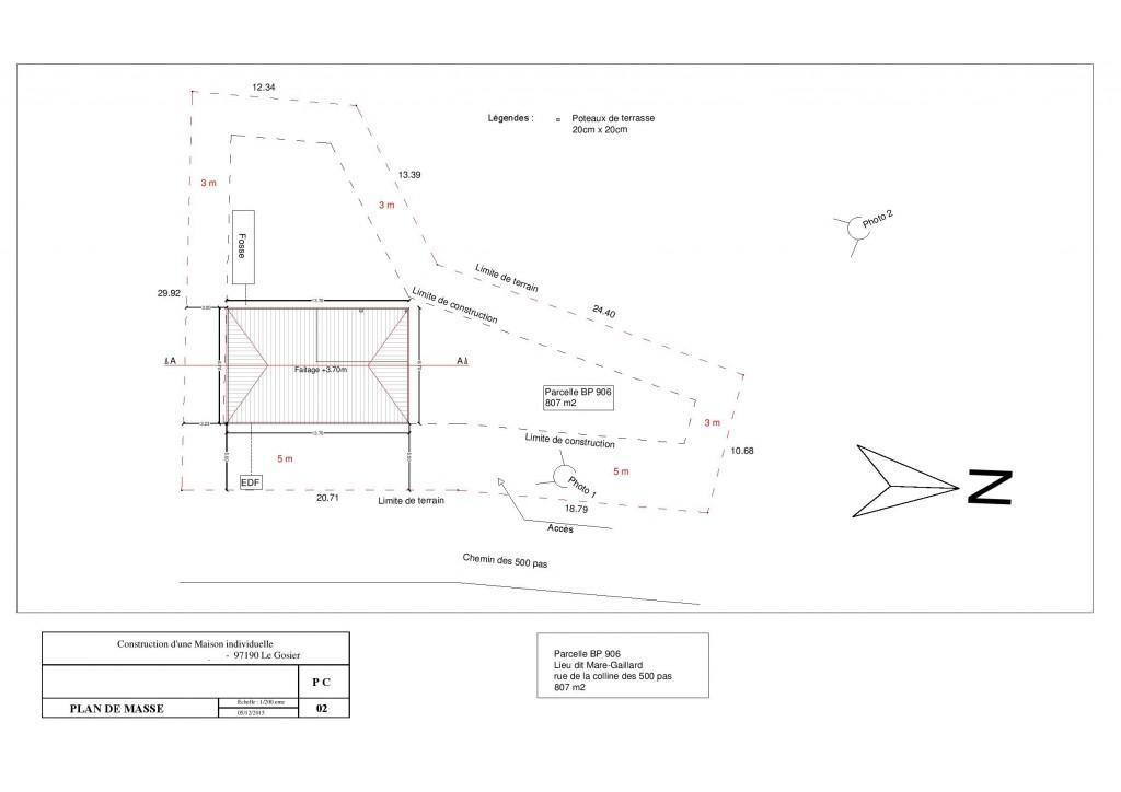 Plan de masse de maison with plan de masse de maison awesome plan de masse de maison with plan - Exemple plan de masse ...