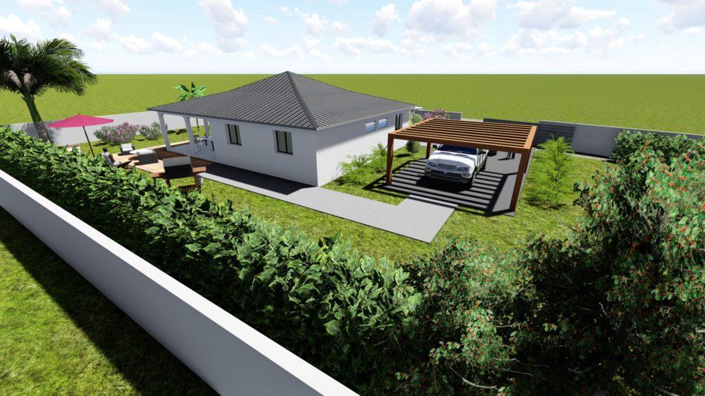 Maison 110m² Petit-Canal