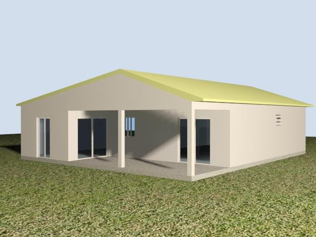 Projet maison 105 m² Abymes
